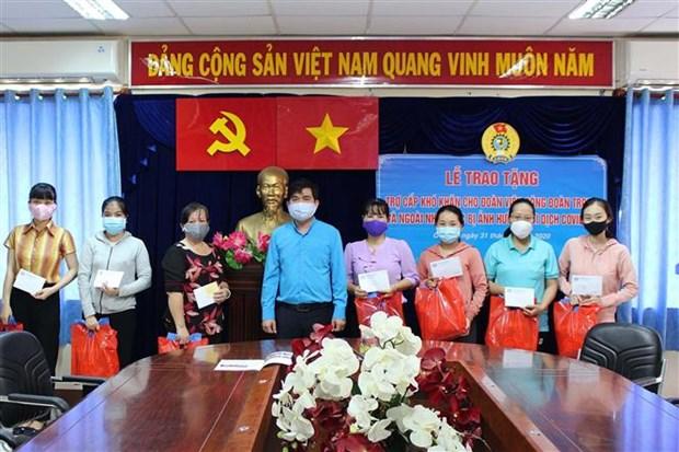 Ciudad Ho Chi Minh lanza medidas de asistencia a personas afectadas por el COVID-19 hinh anh 1