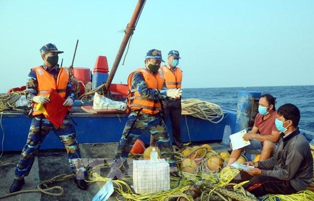 Concluyen Vietnam y China inspeccion conjunta sobre pesca en Golfo de Tonkin hinh anh 1