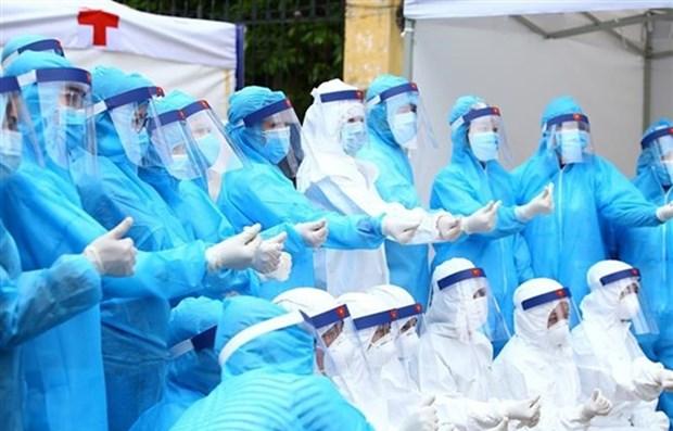 Cumple provincia vietnamita de Vinh Phuc medidas antiepidemicas hinh anh 1