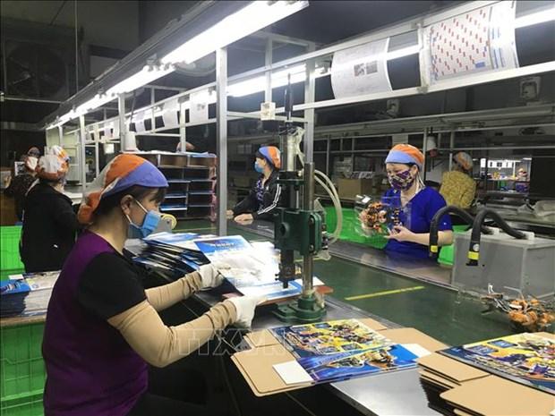 Provincia vietnamita de Hai Duong lanza medidas en apoyo de las empresas hinh anh 1