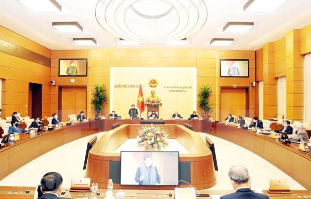 Comite Permanente del Parlamento vietnamita indaga cambios en aparato administrativo de Da Nang hinh anh 1