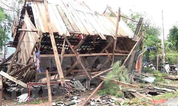 Lluvias torrenciales causan muertos y heridos en provincias norvietnamitas hinh anh 1