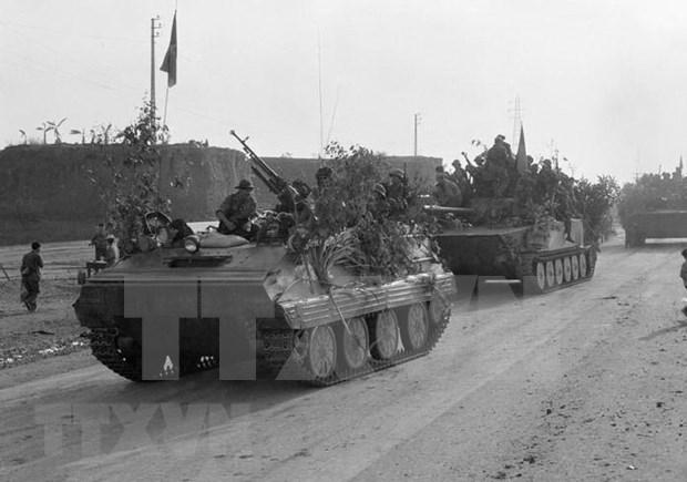 Ofensiva General de Primavera de 1975, cenit del arte militar vietnamita hinh anh 1