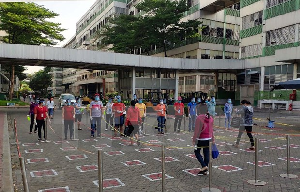 Ciudad Ho Chi Minh establece criterios para evaluar labores preventivas contra epidemia hinh anh 1