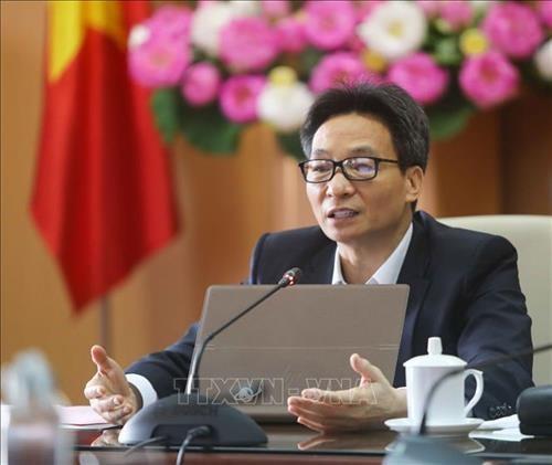 Vicepremier vietnamita exhorta a mantenerse alertas en combate contra el COVID-19 hinh anh 1
