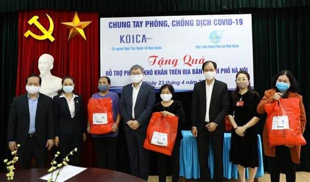 Corea del Sur une esfuerzos con Vietnam para frenar el COVID-19 hinh anh 1
