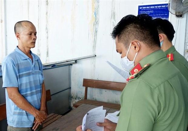 Inician en Vietnam proceso legal contra un hombre acusado de actos subversivos hinh anh 1