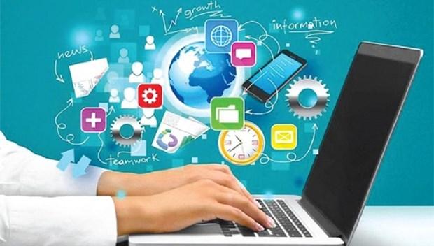 Destacan auge de plataformas digitales en Vietnam hinh anh 1