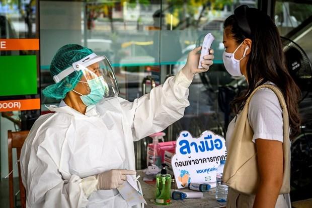 Laos y Tailandia refuerzan medidas de combatir COVID-19 hinh anh 1