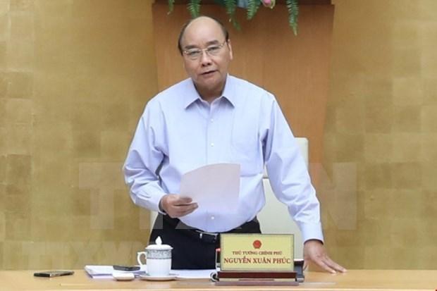 Avanza Vietnam en doblegar el COVID-19, afirma premier Xuan Phuc hinh anh 1