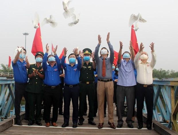 """Inician campana """"Amo a mi Patria"""" en provincia centrovietnamita hinh anh 1"""