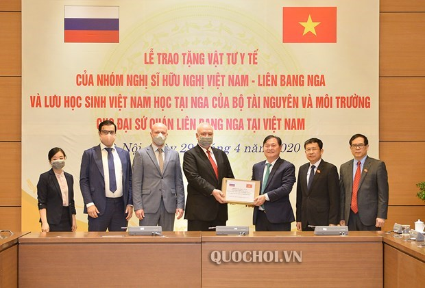 Amigos vietnamitas ofrecen asistencia a Rusia en enfrentamiento a COVID-19 hinh anh 1
