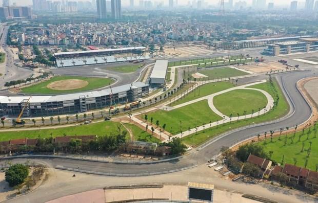Carrera automovilistica de F1 en Hanoi puede reprogramarse para fines de ano hinh anh 1