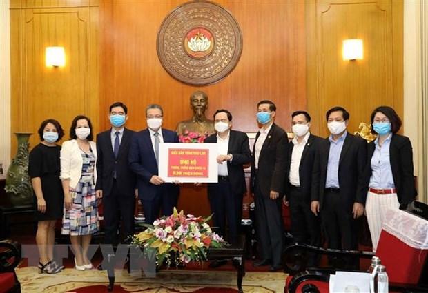 Comunidad internacional apoya a Vietnam en lucha contra epidemia de COVID-19 hinh anh 1