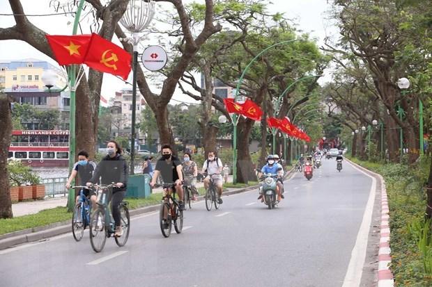 Flexibiliza Hanoi restricciones antiepidemicas hinh anh 1