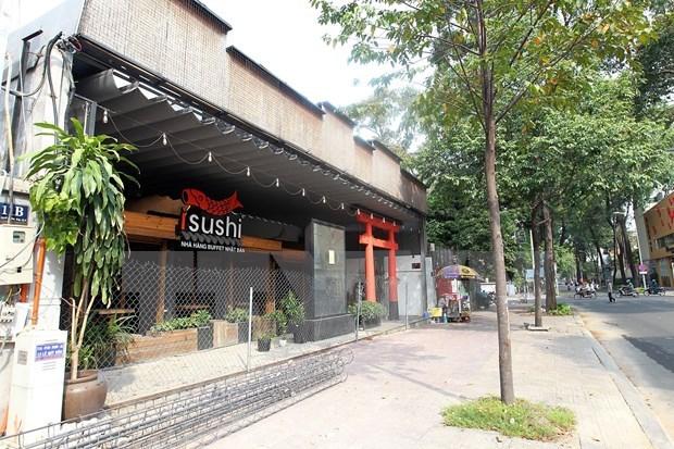 Ciudad Ho Chi Minh mantiene suspendidos los servicios de belleza y entretenimiento hinh anh 1