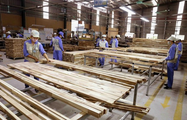 Analizan progreso de la produccion maderera de Vietnam en contexto del COVID-19 hinh anh 1