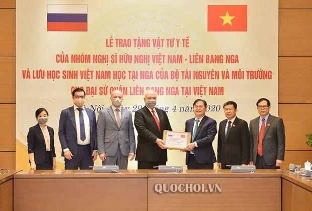 Vietnam ofrece ayuda a Rusia en la lucha contra la epidemia COVID-19 hinh anh 1