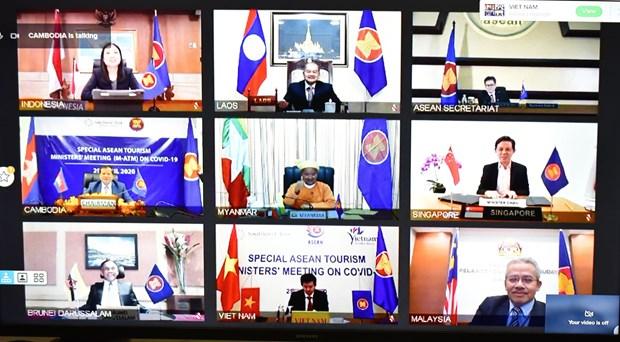 Paises de la ASEAN buscan cooperacion para revitalizar el turismo hinh anh 1