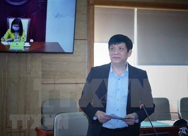 Comparte Vietnam experiencias antiepidemicas con paises de ASEAN y Estados Unidos hinh anh 1