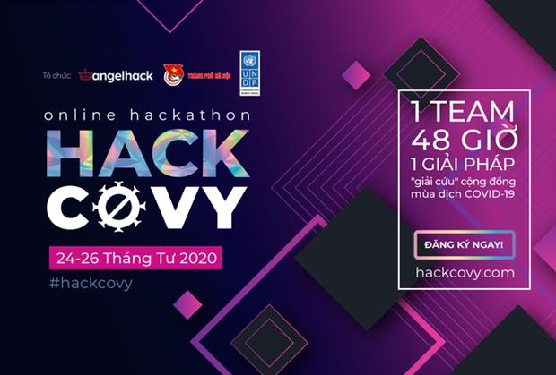 Estimulan aplicacion de tecnologia para hacer frente a COVID-19 mediante hackaton hinh anh 1