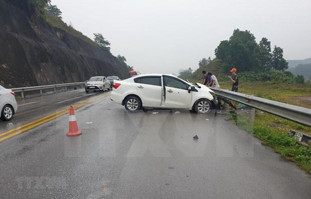 Casi 40 muertos por accidentes de transito en primeros dos dias de asueto en Vietnam hinh anh 1