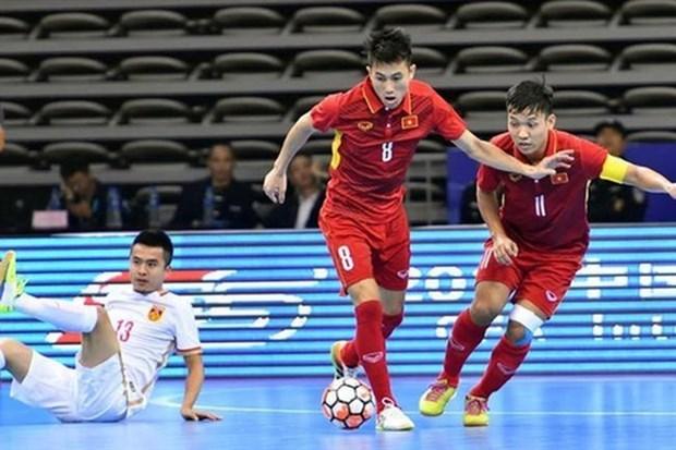 Vietnam entre los 10 mejores equipos de futbol sala de Asia hinh anh 1