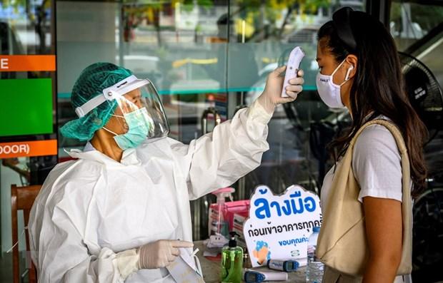 Tailandia mantiene en un digito nuevos casos de COVID-19 por seis dias consecutivos hinh anh 1
