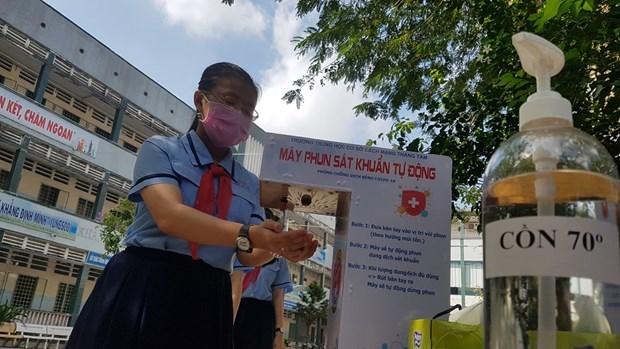 Lanzan en Vietnam concurso de diseno de lavadoras automaticas de manos hinh anh 1