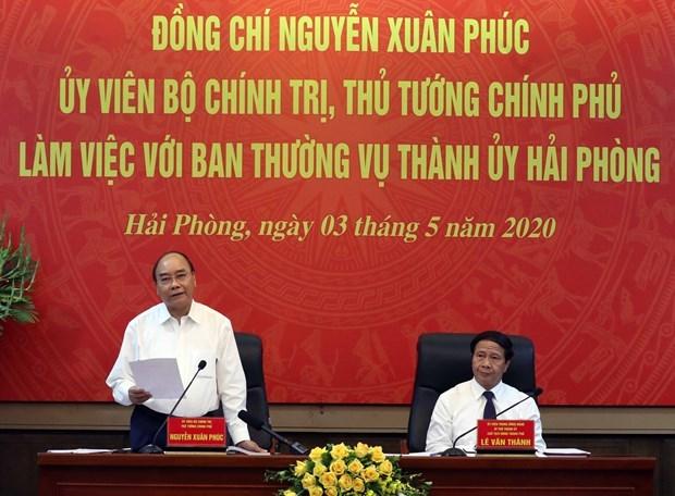 Ciudad vietnamita de Hai Phong por cumplir un doble objetivo hinh anh 1