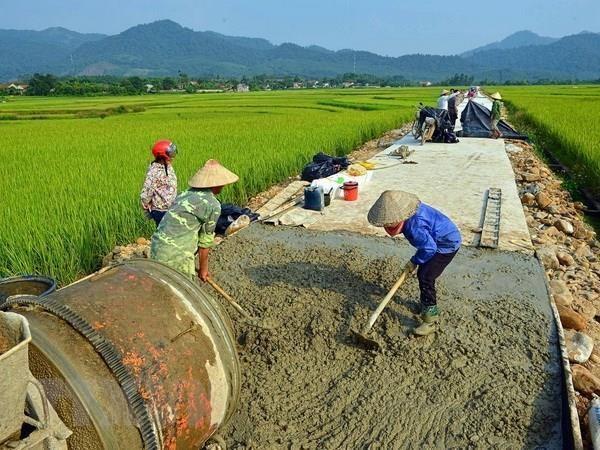 Apoyan a provincia vietnamita de Thanh Hoa en construccion de nueva ruralidad hinh anh 1