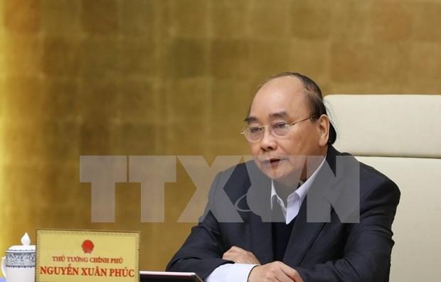 Premier vietnamita sostendra conferencia virtual con empresas la proxima semana hinh anh 1