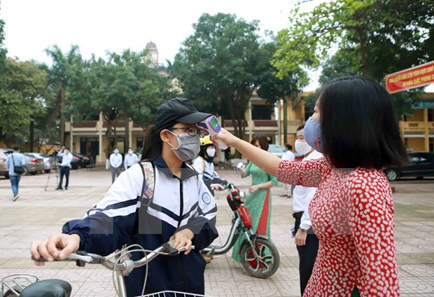 Escuelas de provincia vietnamita de Bac Giang reabren puertas hinh anh 1
