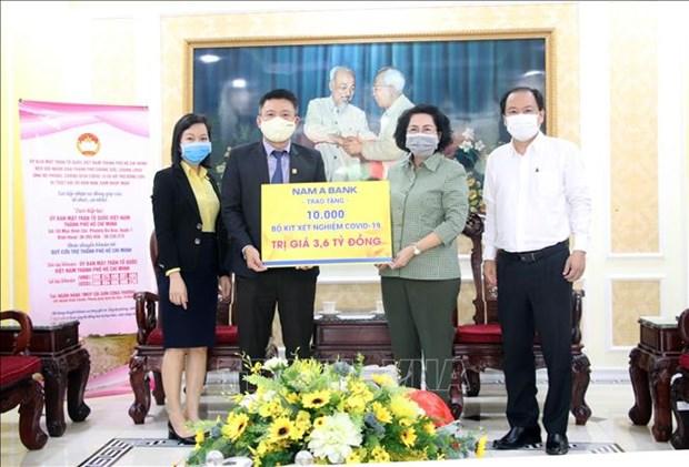 Solidaridad afianza lucha contra el COVID -19 en Ciudad Ho Chi Minh hinh anh 1