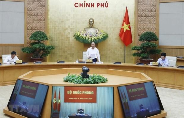 Premier vietnamita insta a recuperar pronto actividades socioeconomicas hinh anh 1