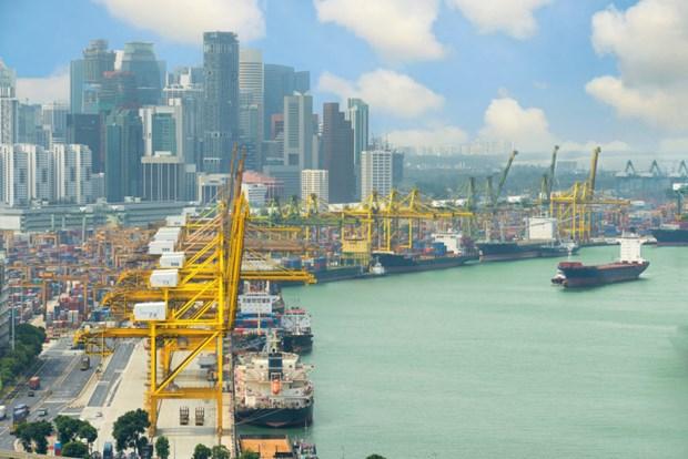 Singapur registra fuerte caida de la industria manufacturera hinh anh 1