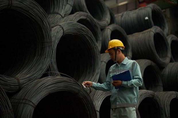 Fabricante vietnamita de acero reporta aumento en exportaciones hinh anh 1