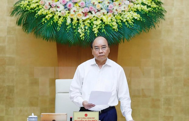 Premier vietnamita pide redoblar esfuerzos para crecimiento de mas de cinco por ciento hinh anh 1