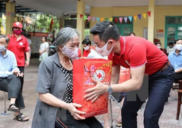 Efectuan en Vietnam numerosas actividades con motivo del Mes Humanitario hinh anh 1