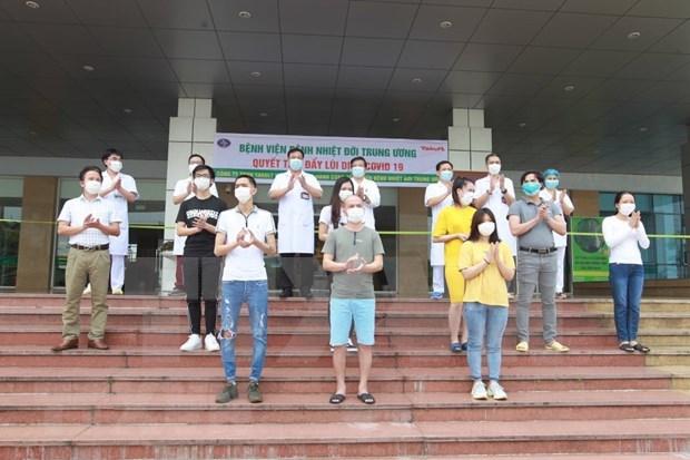 Vietnam reporta otros 11 recuperados del COVID-19 hinh anh 1