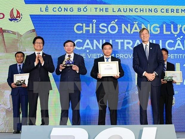 Quang Ninh sigue al frente del ranking de competitividad provincial de Vietnam hinh anh 1