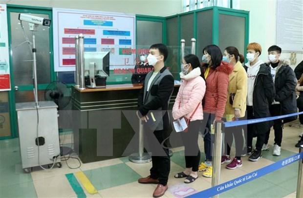 COVID- 19: Laos facilita la repatriacion de ciudadanos vietnamitas hinh anh 1