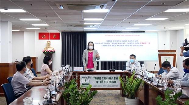 Despliega Ciudad Ho Chi Minh aplicacion para evaluar seguridad en la prevencion contra el COVID-19 hinh anh 1