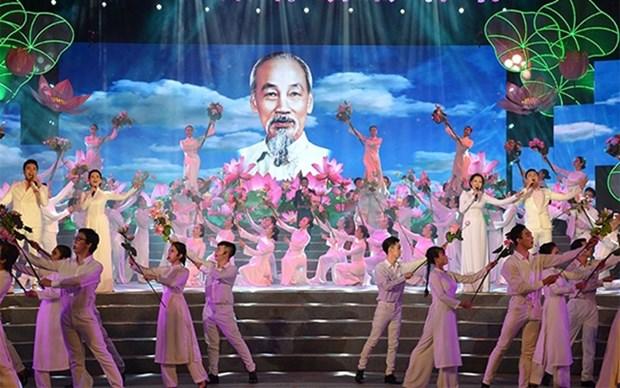 Celebraran en Vietnam actividades para conmemorar natalicio del Presidente Ho Chi Minh hinh anh 1