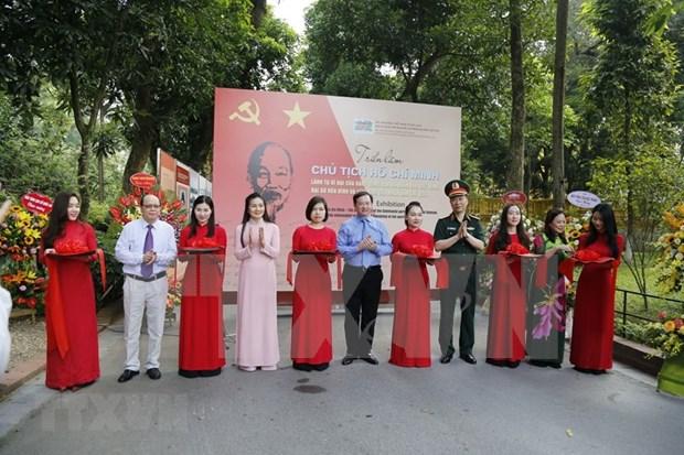 Inauguran exposicion fotografica y documental sobre Presidente Ho Chi Minh hinh anh 1