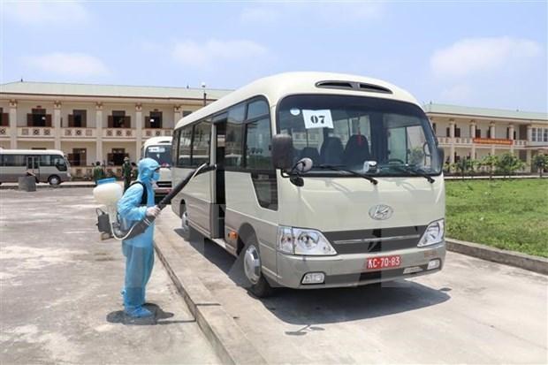 Provincia norvietnamita de Ninh Binh recibe connacionales repatriados hinh anh 1