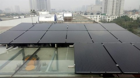 Promueven uso de energia solar en regiones centrales y altplanas de Vietnam hinh anh 1