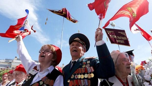 Felicita Vietnam a Rusia por Dia de la Victoria contra el Fascismo hinh anh 1