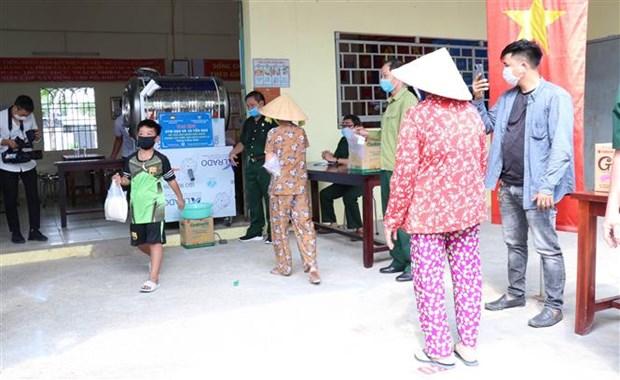 Ciudad Ho Chi Minh asiste a personas afectadas por el COVID-19 hinh anh 1
