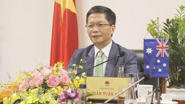 Vietnam y Australia planean impulsar cooperacion comercial tras epidemia hinh anh 1
